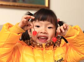 小悦5岁罗!